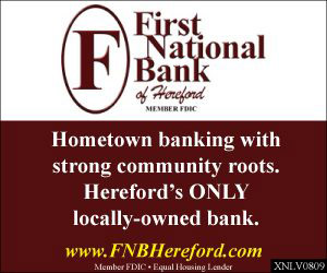 First National Bank - advertisement